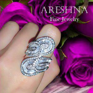 Infinity Diamond Luxury Cocktail Ring
